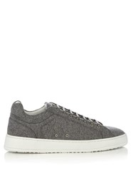 Etq Low 4 Wool Felt Trainers Grey Multi