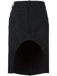 Haider Ackermann 'Bayard' Skirt Black