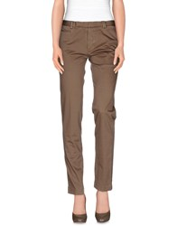 Fendi Trousers Casual Trousers Women Khaki