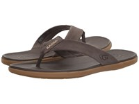 Ugg Delray Charcoal Men's Sandals Gray