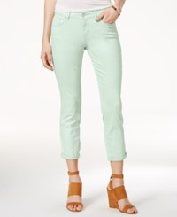 Jessica Simpson Forever Cropped Blue Wash Skinny Jeans