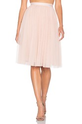 Needle And Thread Tulle Midi Skirt Blush