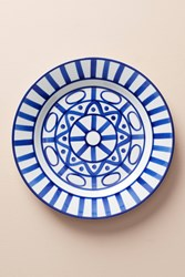 Dansk Arabesque Dinner Plate Blue Motif