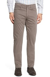 Peter Millar Men's Big And Tall Stretch Sateen Five Pocket Pants Granite