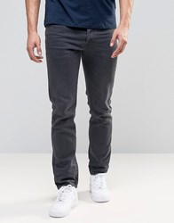 Diesel Buster Jean Regular Slim Fit Jean 859X Dark Grey Wash Gy1 Grey 1