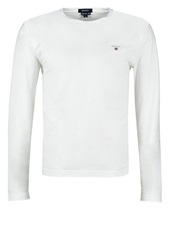 Gant Solid Long Sleeved Top White