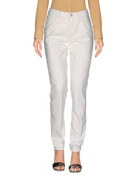 Trussardi Jeans Casual Pants White