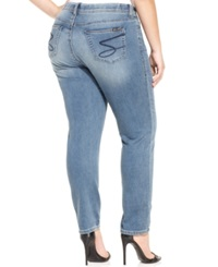 7 For All Mankind Seven7 Jeans Plus Size Jogger Straight Leg Jeans Cruiser Wash