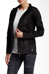 Free Country B On The Go Cire Woven Full Zip Jacket Black
