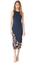 Haney Natasha Sleeveless Dress Navy