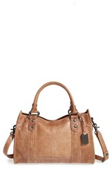 Frye 'Melissa' Washed Leather Satchel Beige