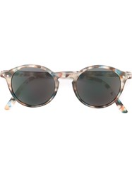 See Concept Round Shaped Sunglasses Blue