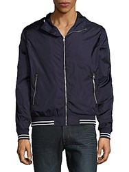 Sovereign Code Kingston Cotton Hooded Jacket Navy