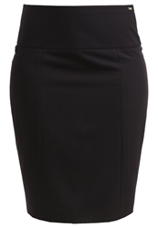 La City Mini Skirt Noir Black