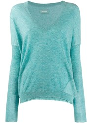 Zadig And Voltaire V Neck Sweater Green
