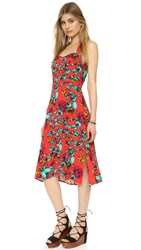 Minkpink Tropical Dream Midi Dress Multi