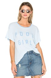 Wildfox Couture Pool Girl Tee Baby Blue