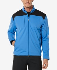 Callaway Men's Colorblocked Three Pocket Jacket Palace Blue