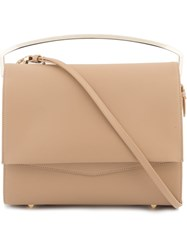 Eddie Borgo 'Boyd ' Large Clutch Nude And Neutrals