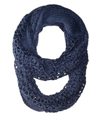The North Face Knitting Club Scarf Cosmic Blue Scarves