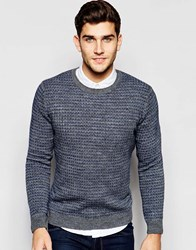 United Colors Of Benetton United Colours Of Benetton Cross Stitch Jumper Grey