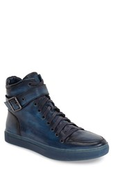 Jump Men's 'Sullivan' High Top Sneaker Navy Leather