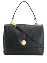 Coccinelle Liya Leather Tote Black