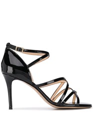 Fabio Rusconi Spatola Sandal Pumps Black