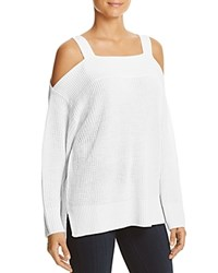 Sanctuary Amelie Cold Shoulder Sweater Winter White