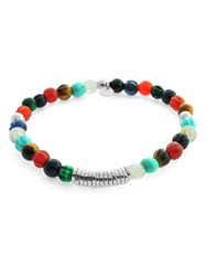 Tateossian Beaded Bracelet Multi Coloured Multi Coloured