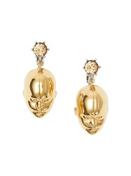 Burberry Crystal And Doll's Head Gold