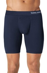 Tommy John Cool Cotton Boxer Briefs Navy