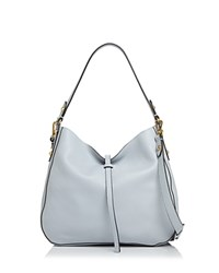 Annabel Ingall Brooke Leather Hobo 100 Exclusive Pale Lapis Blue Gold