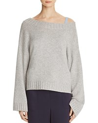 Vince Cashmere Slouch Sweater Gray
