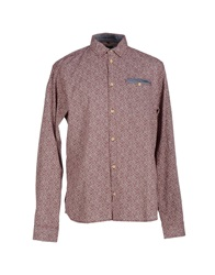 Blend Of America Blend Shirts Maroon