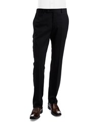 Ted Baker Flat Front Dress Pants Black