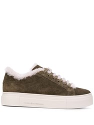 Kennel Schmenger And Fur Lined Sneakers Green
