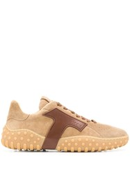 Tod's Lace Up Sneakers Brown