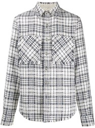Faith Connexion Tweed Relaxed Fit Shirt 60