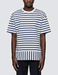Public School Daryl Striped S S T Shirt