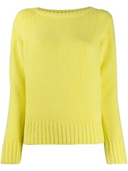 Fabiana Filippi Crew Neck Jumper Yellow