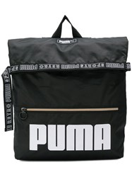 Puma Sport Messenger Backpack Black