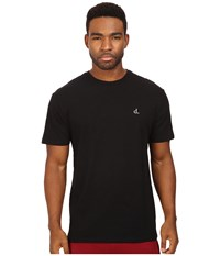 Diamond Supply Co. Un Polo Chest Slub Tee Black Men's T Shirt