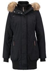 Ragwear Blend Winter Coat Black