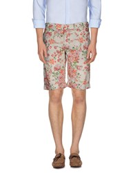 Dekker Trousers Bermuda Shorts Men Beige