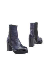 Keb Ankle Boots Dark Blue