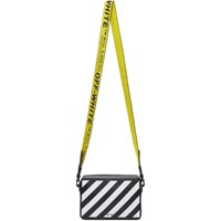 Off White Black Diagonal Fanny Pack