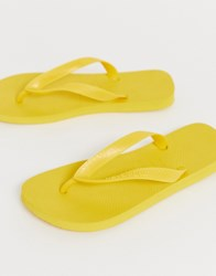 Havaianas Top Flip Flops In Yellow