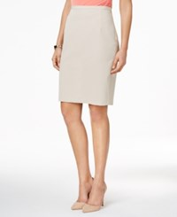 Tommy Hilfiger Classic Pencil Skirt Latte
