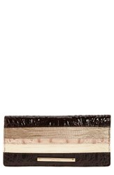 Brahmin Women's Ady Embossed Leather Wallet